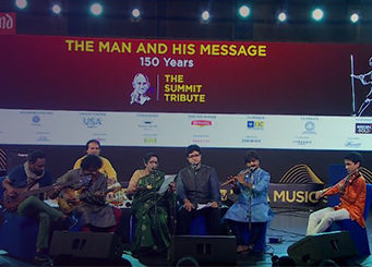 The Man & His Message: The Summit Tribute to Mahatma Gandhi